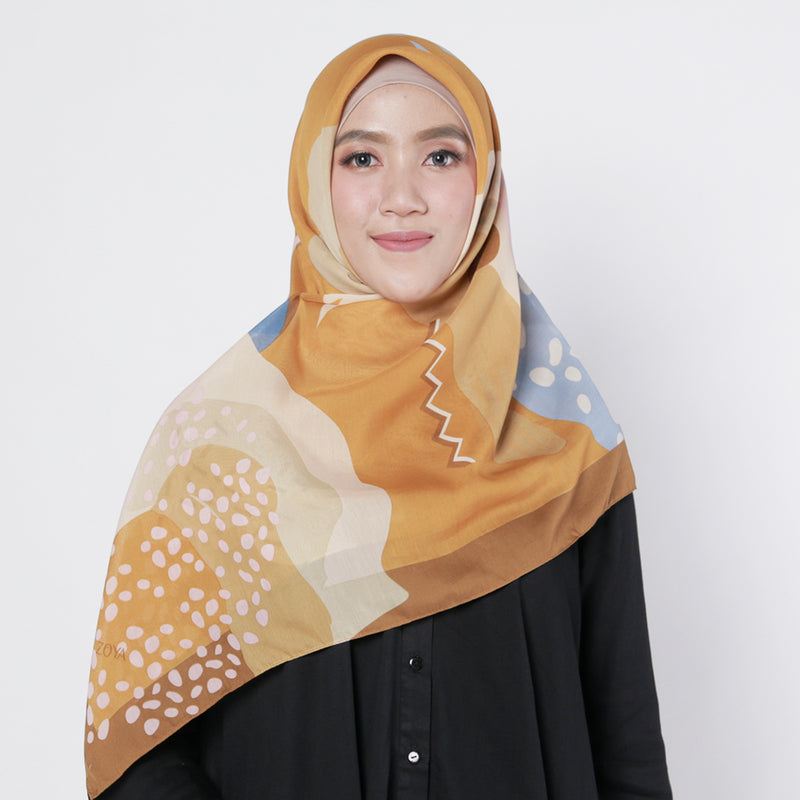 Amina Scarf Brown