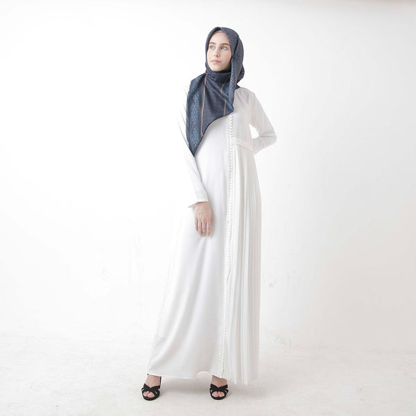 Arun Dress White