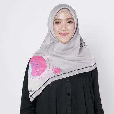 Ashlyn Scarf Light Grey