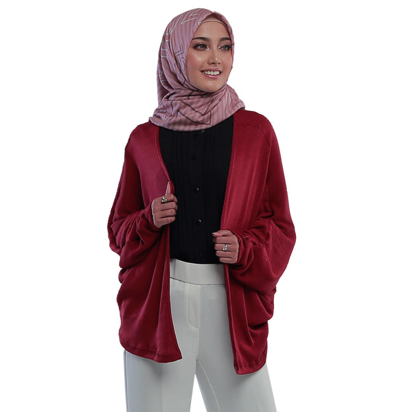 Abigail Outer Maroon