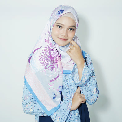 Afiana Scarf Light Blue