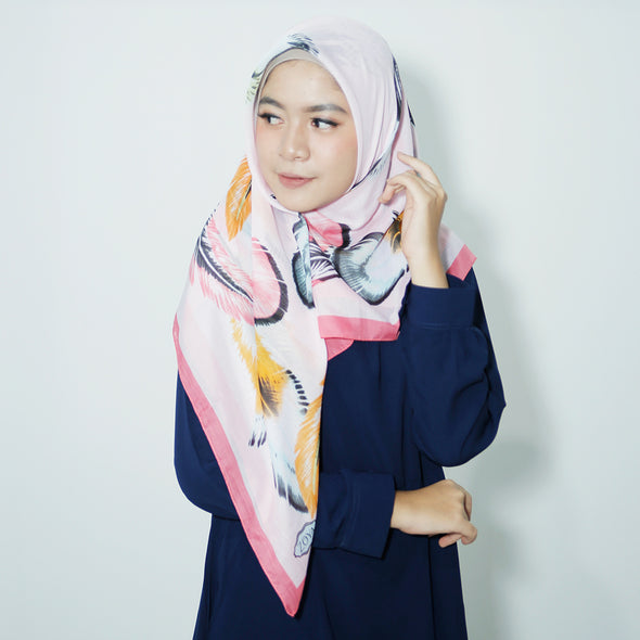 Alba Scarf Tropical Pink