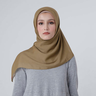 Maruna Plain Scarf Green