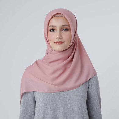 Maruna Plain Scarf Dusty Pink