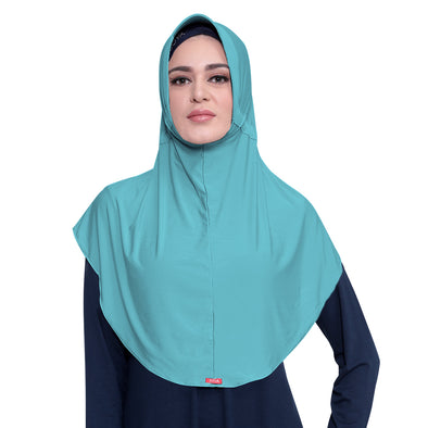 Bergo Husna Casual HeiQ Light Tosca