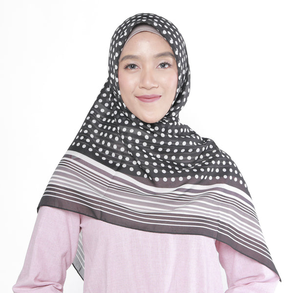 Bourbon Scarf Black