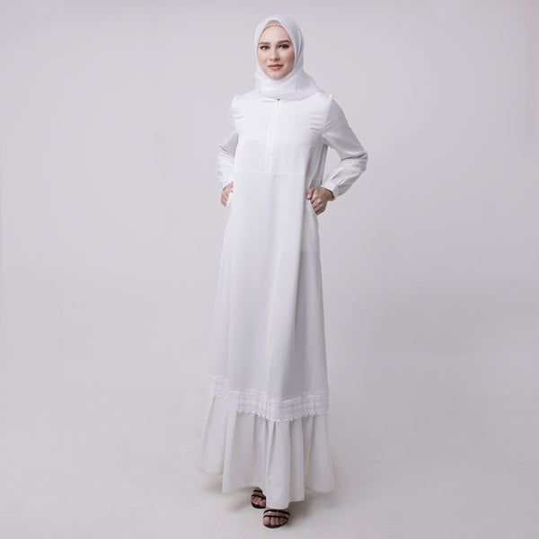 Ranisha Dress White
