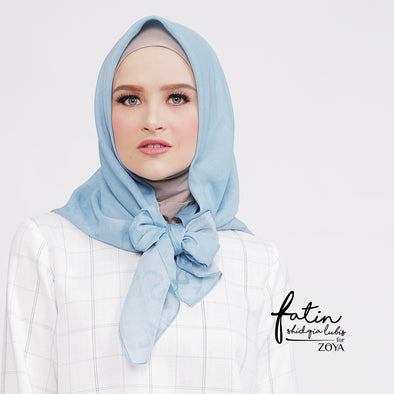 Rehana Scarf Light Blue