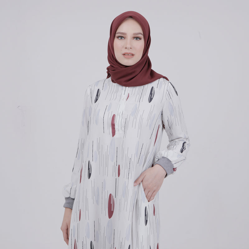 Fayola Dress Broken White