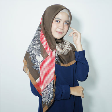 Galica Scarf Dark Brown Mocca