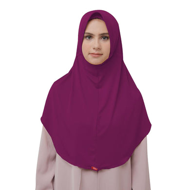 Bergo Husna Casual HeiQ Majesty Purple