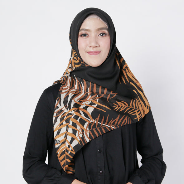 Inaaya Scarf Black Brown