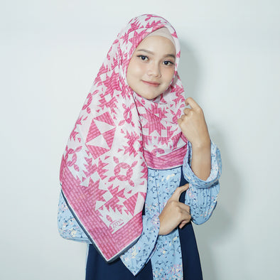 Irena Scarf Raspberry Rose