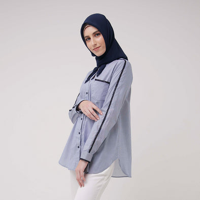 Jizel Tunic Navy