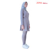 Karvia Pants Skirt Grey (Viroblock)