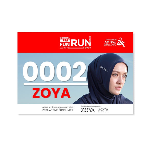 EARLY BIRD - ZOYA Active Challenge 2020 - 5K Hijab Fun Run