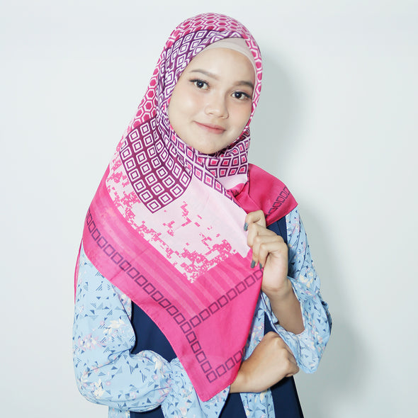 Raline Scarf Raspberry Rose