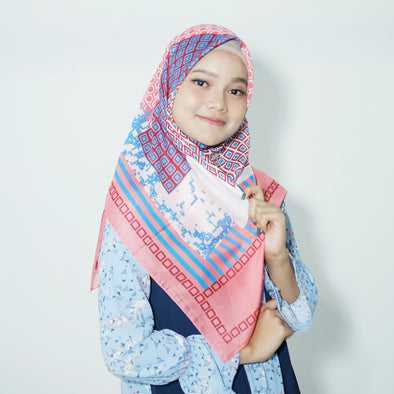 Raline Scarf Tropical Pink