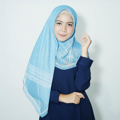 Roxanne Scarf Light Blue