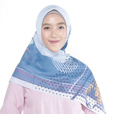 Shanne Scarf Light Navy