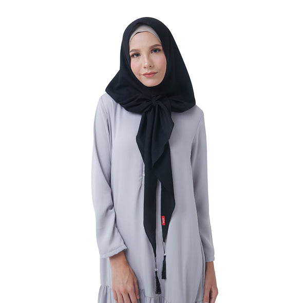 Smart Hijab Liliana Black