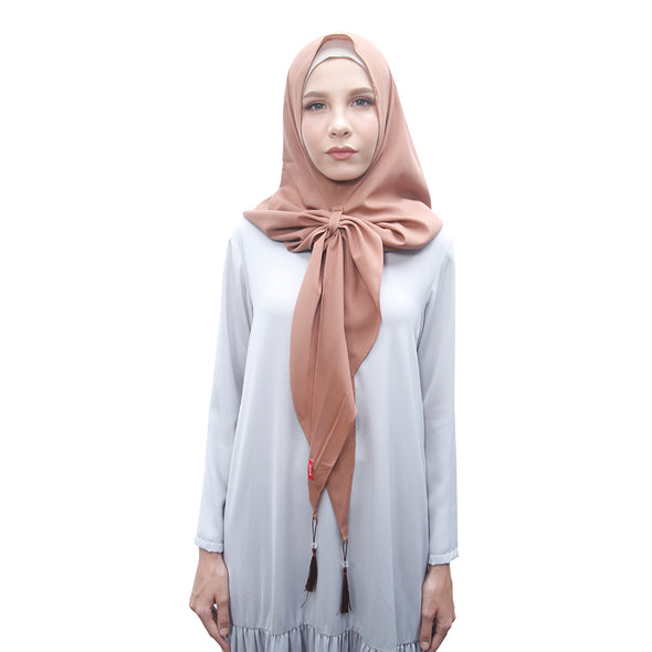 Smart Hijab Liliana Brown