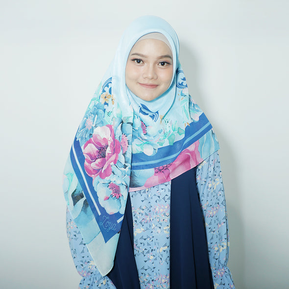 Vinniy Scarf Light Blue