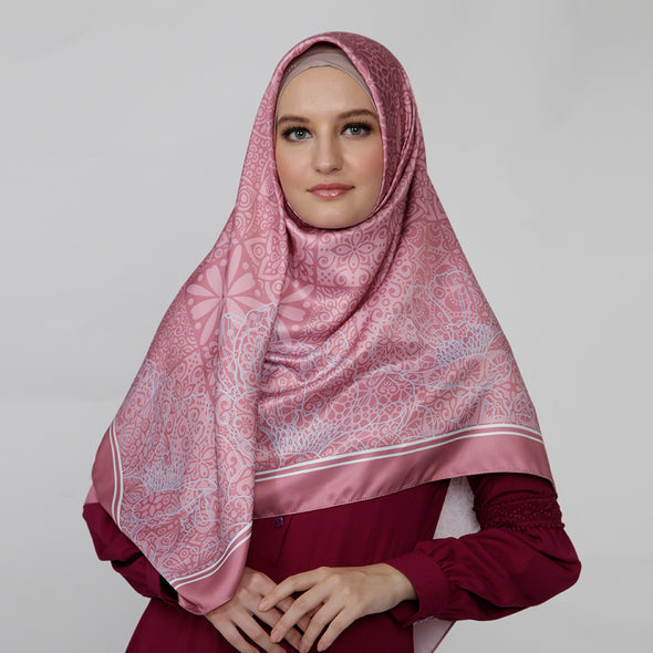 Saveria Scarf Dusty Pink