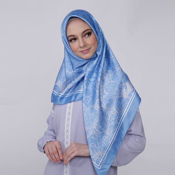 Saveria Scarf Light Blue