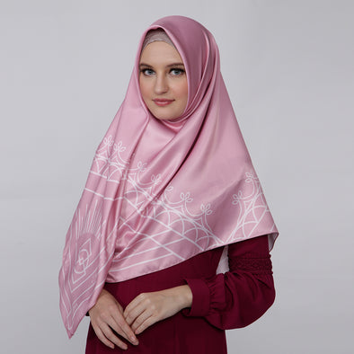 Zavia Scarf Dusty Pink