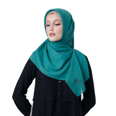 Scalope Scarf Deep Green