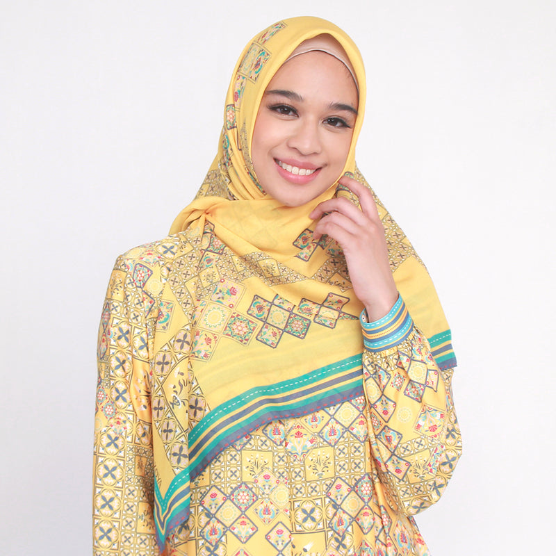 Zunai Scarf Yellow