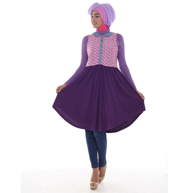 Anne Tunic Purple