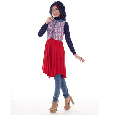 Anne Tunic Red