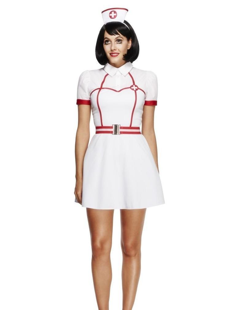 0a31117f9 Fever Bed Side Nurse Costume with Dress - 43490