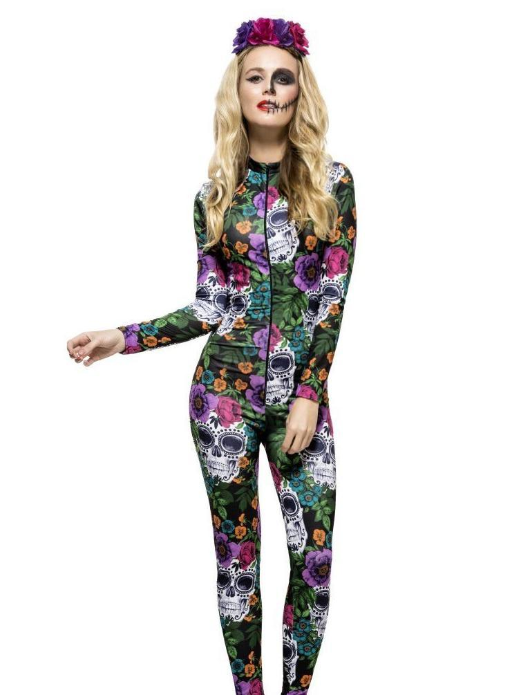 Fever Day Of The Dead Catsuit Fevercollectioncom Fever Collection