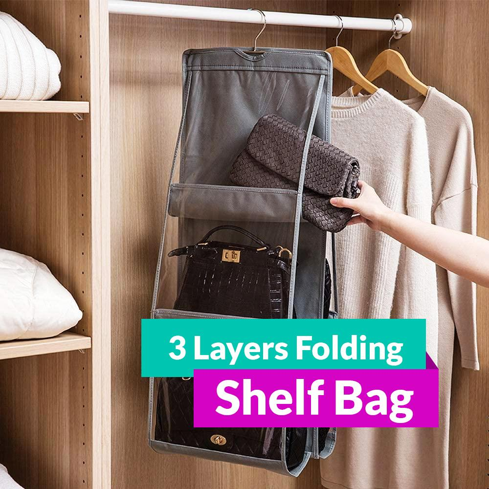 3 Layer Folding Shelf Bag