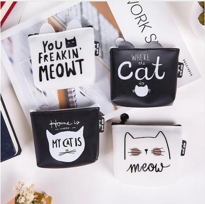 Mini cat wallet 50% OFF -Free Shipping-