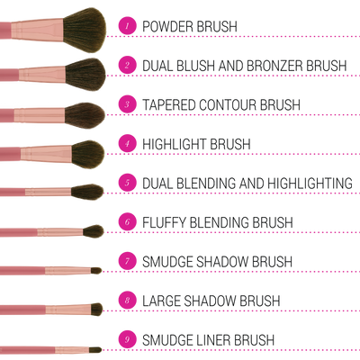 ItsMyRayeRaye Brush Set