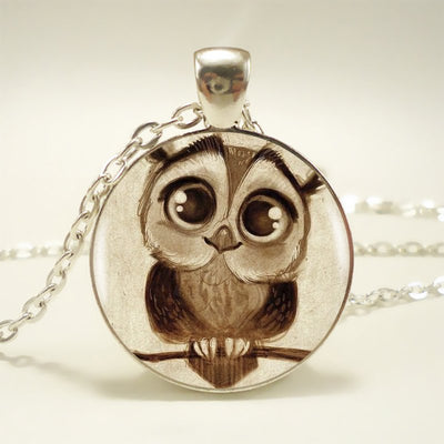 Cute Owl Pendant  Necklace For Women Dress Accessories 83% OFF ( Free Shipping Today Only )