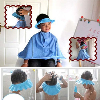 Shampoo Shower Bathing Bath Protect Soft Cap Hat For Baby