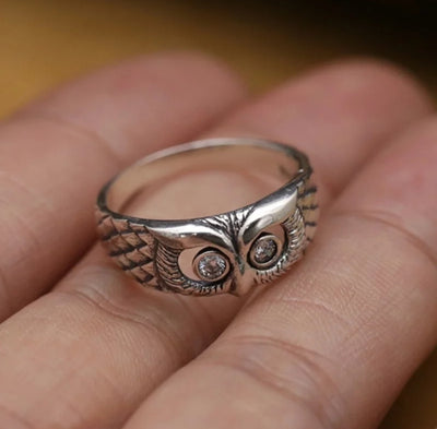 Owl Design Ring - Free shipping