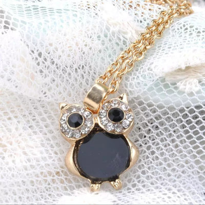 Owl Pendant Necklace - Free Shipping