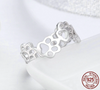 100% 925 Sterling Silver Pet Rings for Women