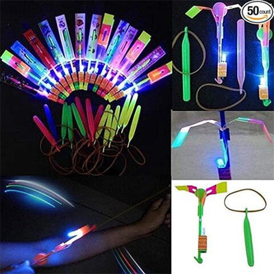 10 LED Helicopter Shooters