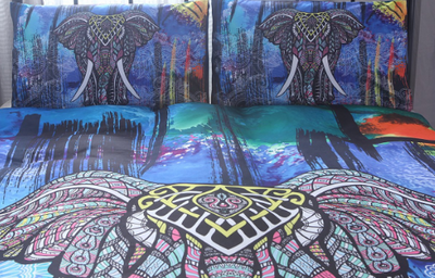 Elephant Duvet Cover Set 50% OFF Free Shipping