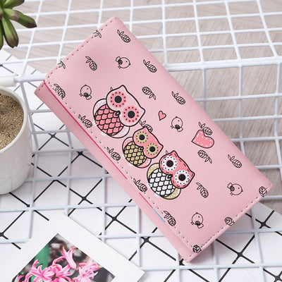 OWL WALLET FOR WOMEN 50% OFF ( Buy 2 Wallets, Get 1 for free )