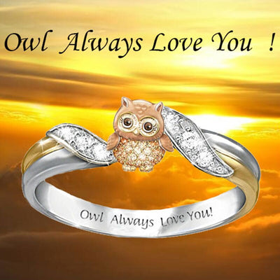 Owl Rings for Women