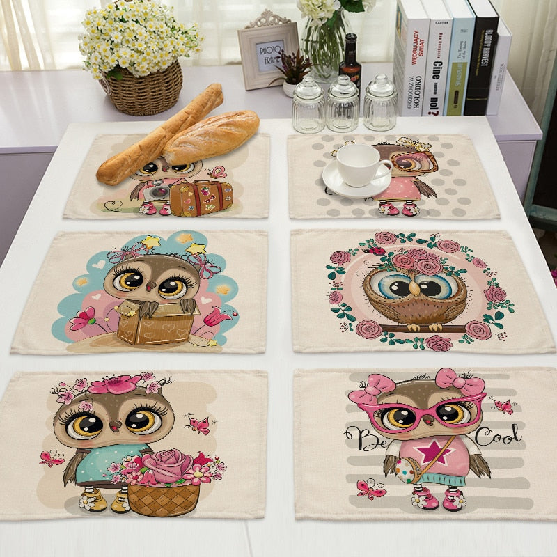 Owl Table Accessories