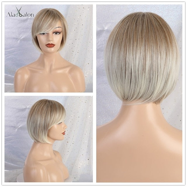 Bob  Short Wigs with Bangs